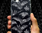 Vampire Bat Nu gothic Pastel goth Dark Spooky Tumblr aesthetic Retro iPhone 6 6s 6+ 6s+ 7 7+ 8 8+ plus iPhone X Vintage Animal Graphic art