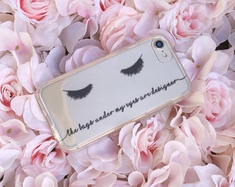Tired and Still Fabulous Phone Case for iPhone 5, SE, 6, 6 Plus, 7, 7Plus, 8, 8 Plus and X. TPU or Wood Options