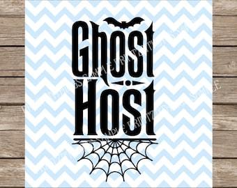 Ghost Host svg, Haunted Mansion svg, Halloween svg, Disney svg, Welcome, Welcome svg, Halloween, Haunted Mansion, Fall svg, Fall, cricut