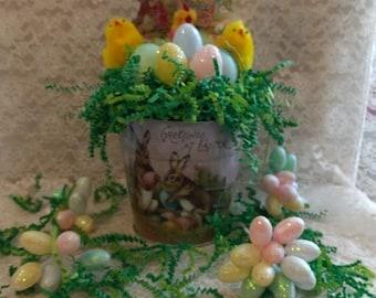 Easter Greetings Bucket