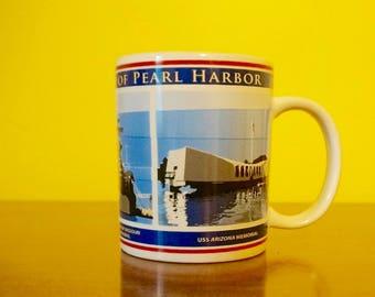 Pearl Harbor; Ceramic Coffee Mug; Approx. 4 x 5 inches (inc. handle); Historic !!!