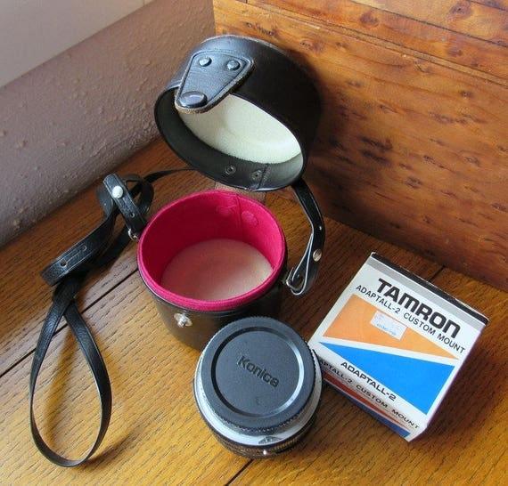 Vintage Tamron 28mm Wide Angle Lens