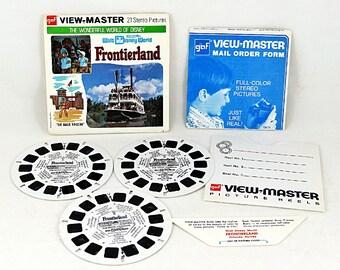 Frontierland View Master Reels Magic Kingdom Disney World
