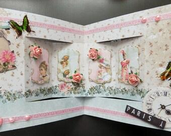 "card series ""Paris Chic"" No. 1"
