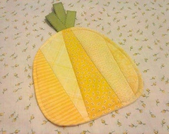 Pineapple Mug Rug - Coaster - Mug Rug