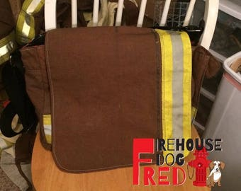 Firefighter Turnout Gear Messenger Bag