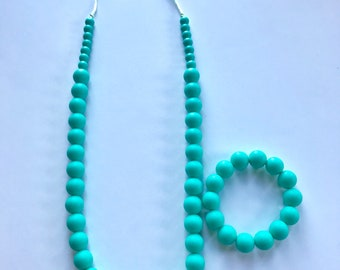 Sale- Turquoise Pearl Style Set