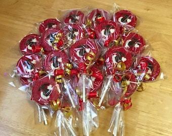 Marine Symbol Chocolate Lollipops