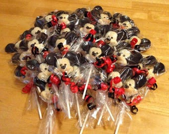 Mickey Mouse Chocolate Favors