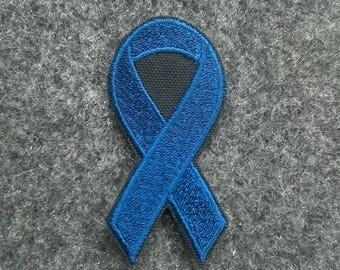Royal Blue Awareness Ribbon