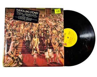 The Rolling Stones It's Only Rock N Roll LP Album BUDGET COPY 1974 Dance Little Sister But I Like It Short And Curlies Vinyl Record