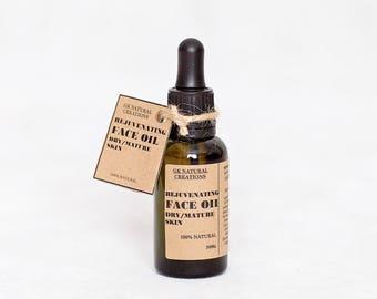 Rejuvenating Face Oil All natural 30ml