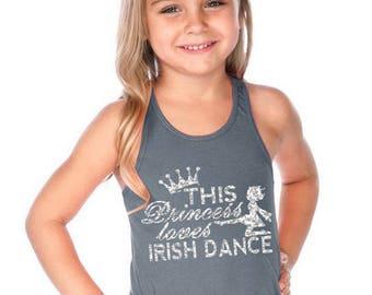 Princess Irish Dance Tank
