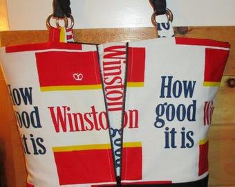Vintage Winston Cigarette Purse