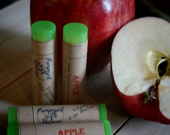 Natural Apple Vegan Lip Balm