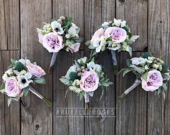 Boho Bouquet, Bridesmaid Bouquet, Wildflower Bouquet, Bouquet