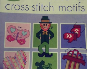 Craftways treasury of seasonal cross stitch motifs