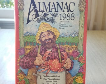 Vintage Washington State Almanac 1988