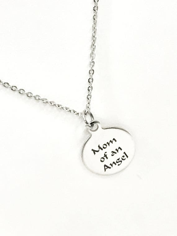 Child Loss Gifts, Mom Of An Angel Necklace, Child Loss Memorial, Child Loss Necklace, Miscarriage Memorial Gifts, Remembering My Child Gift