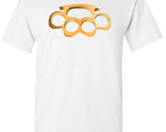 Brass Knuckles Men's White T shirt