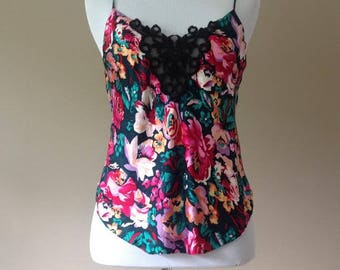 S / Silk Cami Camisole Lingerie Top / Small / FREE USA Shipping