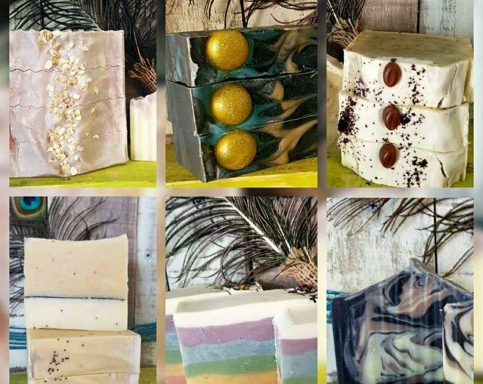 50, 100 Lye Soap Favors or Wholesale