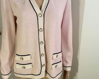 Vintage St John pink top