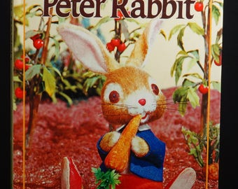 PETER RABBIT A Puppet Storybook Beatrix Potter 1968 T. Izawa & S. Hijikata
