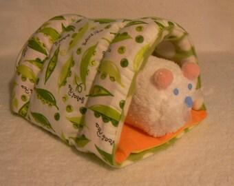 Sugar Glider Bed  with waterproof washable pad / Guinea pig bed / Ferret Bed / Sugar Glider Bed / Hedge  hog Bed