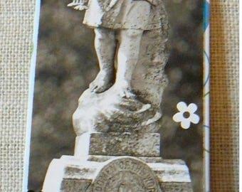Bookmark / bookmark pattern Angel statue - Dimensions 17 x 5 cm