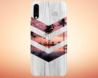 California Palm Tree Sunset Phone Case, iPhone X, iPhone X Plus, Rubber iPhone Case, Galaxy s8 Samsung Galaxy Case Note 8 Nature CASE ESCAPE