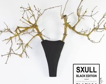 "deer antlers ""Sxull"" - Black Edition"