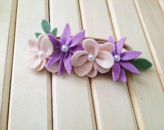 Felt Flower Headband