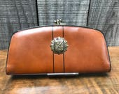 1960's Baronet Deluxe Leather Wallet with Double Coin Purse