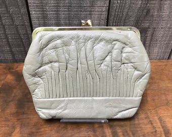Leather Pouch Wallet/Coin Purse