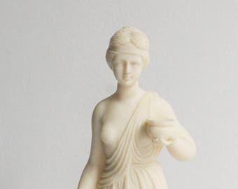 statue classique, reproduction en résine Musée, sculpture néoclassique, grec figure figurine Musée réplique italienne art déco