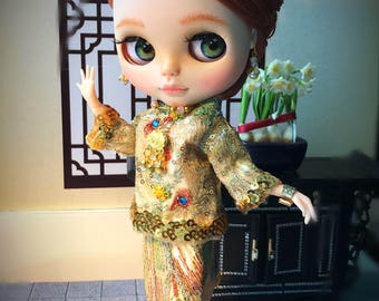 Custom Blythe Dolls For Sale by Custom Blythe Doll 13 - Chinese Bride Lin