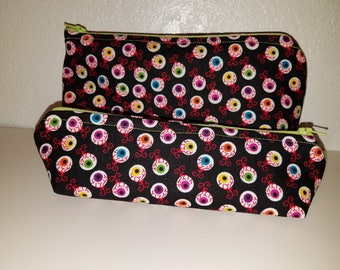 Colored Eyeballs Bag Set