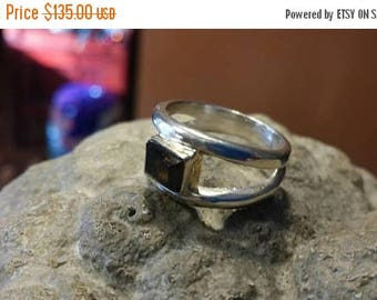 Holiday SALE 85 % OFF Smoky Quartz 925 Sterling Silver   Ring  Gemstone