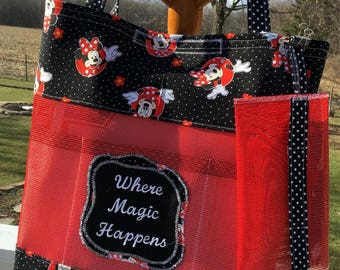 Minnie Mouse Mesh tote bag