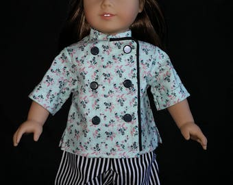 "Is your 18"" doll a chef? Need the outfit to confirm it?  Here it is!  Awesome, and ready to ship!"