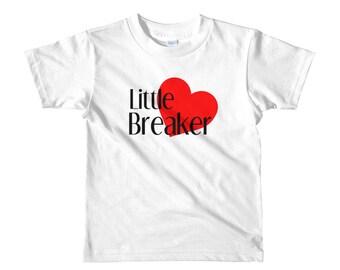 Little Heart Breaker Valentine's Shirt Short sleeve kids t-shirt