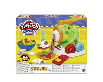 The Play Doh pasta factory