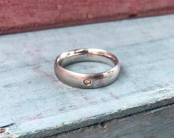 Size 6.75 Sterling Silver Band Ring