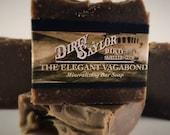 Elegant Vagabond Soap, Mineralizing Soap, Dead Sea Mud, Homemade Soap, Vegan, 100% Natural, Palm Free, Dead Sea Mud, Cold Processed