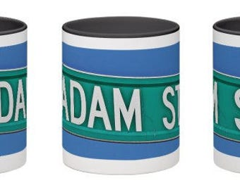 Personalized mug for a boy, Bar Mitzvah gift, Name mug, Personalized mug for men, Personalized mug, Men's gift, Adam, Spencer, Robbie,Rob,