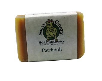 Patchouli Soap, Patchouli Goat Milk Soap, Goat Milk Soap