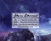 Stars Eternal - A Court of Wings and Ruin Inspired Scented Soy Candle