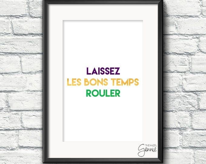 Featured listing image: Laissez Les Bons Temps Rouler
