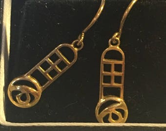 Five Charles Rennie McIntosh quality sterling silver and gold jewellery